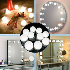 Embellir MM-FRAME-5846-WH Makeup Mirror with 15 LED Bulbs - White