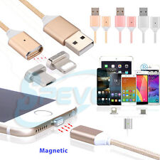 Cable Magnética Cargador adaptador USB Data Para iPhone 6 7 SAMSUNG Type Tipo C