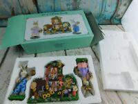 3 Piece Bunny Family set Decor Easter Rabbits Resin