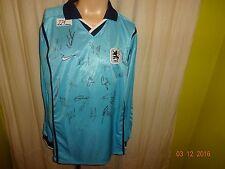 TSV 1860 München Original Nike Langarm Trikot 2002/03 + Handsigniert Gr.XL Neu