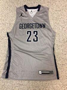New Jordan Nike Georgetown Basketball Jersey #23- Men's Large