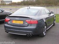 Wing For Audi A5 2D rear Spoiler Lip RS S Sline s-Line Trunk door trim