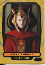 Star Wars Galactic Files Series 1 Base Card #12 Queen Amidala