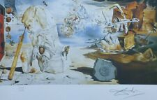 SALVADOR DALI THE APOTHEOSIS OF HOMER HAND NUMBERED PLATE SIGNED LITHOGRAPH