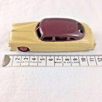 Dinky Toys Meccano Hudson Commodore Sedan 171 Cream & Burgundy/Maroon