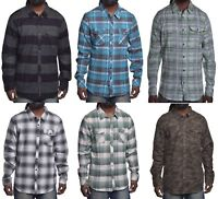 O'neill Men's Mix & Match Casual Flannel Button Up Shirt Choose Size & Color