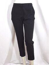 MANGO BASICS Taille 38 très joli pantalon habillé noir femme polyester trousers