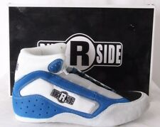 Ring Side MMA Martial Athletic Blue Suede Boxing Sneakers w/ Box Men's US 8