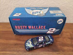 1999 #2 Rusty Wallace Miller Lite Harley Davidson 1/64 Action NASCAR Diecast