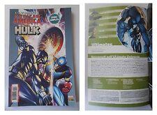 Marvel Crossover 57, Pantera Nera, Capitan America, Hulk, Luglio 2009