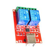 Usb Relay Module Usb Intelligent Control Switch Usb Switch Dc 5v 2 Channel