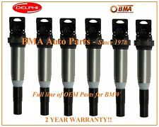 NEW 6x OEM DELPHI Direct Ignition Coils BMW 1 3 5 SERIES X3 X5 Z3 Z4 12138616153