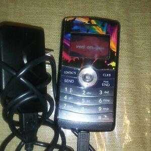 Blue Verizon LG VX9200 Mobile Phone Tested & Working QWERTY Keyboard 4.G3