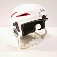 Mission Cascade M11 Pro Helmet White w/ Red Vents Size Adult XS Extra Small