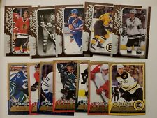 2008-09 O-PEE-CHEE OPC SP LEDGENDS & STARS LOT 12 CARDS SAVARD BOURQUE KURRI