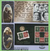 G.B. 2002 Golden Jubilee set of four booklet pane Benham First Day Covers