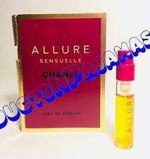 Chanel ALLURE SENSUELLE  Eau de Parfum Spray CARDED SAMPLE Year 2005 VERY RARE