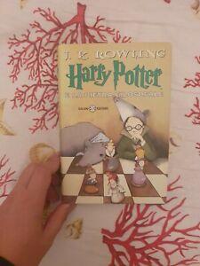 Harry Potter E La Pietra Filosofale Salani prima edizione vecchia traduzione