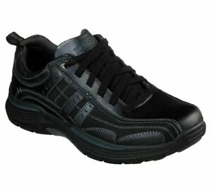 Mens Skechers Expended-Manden Casual Lace Up Leather Sneakers Shoes Size UK 9 43