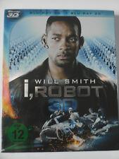 I, Robot 3D - Roboter Krimi - Will Smith - Detektiv und jagt Maschinen, Proyas