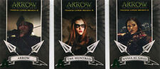 Arrow Season 2 Archers Complete 3 Green Foil Parallel Chase Card Set A1 to A3