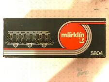 Märklin Marklin 1 Gauge 5804 Passenger Car Original Box