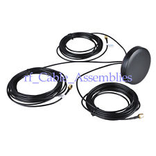 Brand New Round Gps/Wifi/Gsm Antenna with Sma male connector cable 5M for Navman