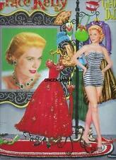 Vintage Uncut 1956 Grace Kelly Paper Dolls~#1 Reproduction~Fabulous/Gla morous