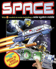 SPACE: with 7 models to make including a solar system mobile - New Paperback Boo