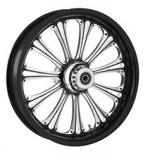 """RC COMPONENTS IMPERIAL ECLIPSE 18"""" WHEELS PACKAGE SET TIRES HARLEY FLH/FLT 2008"""
