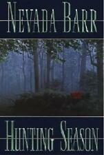 NEVADA BARR HUNTING SEASON SIGNED FIRST EDITION
