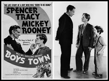 BOYS TOWN (1938) SPENCER TRACY & MICKEY ROONEY DVD (Norman Taurog) Classic Film