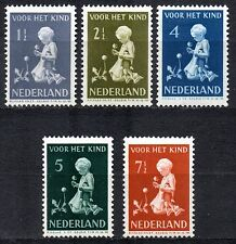 Netherlands - 1940 Child welfare Mi. 375-79 MH