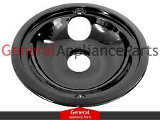 """GE General Electric Stove Range Cooktop 8"""" Black Burner Drip Pan Bowl WB32K5042"""