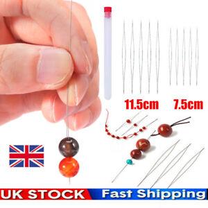 10pcs Big Eye Beading Needles Threading Tool Set for Bracelet Jewelry DIY 2 Size