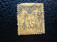 FRANCE - timbre yvert et tellier n° 93 obl (A20) stamp french