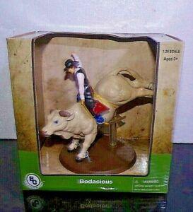 Big Country Farm Toys PBR Rodeo Bull BODACIOUS  w/Cowboy Rider MIB (C) 2012