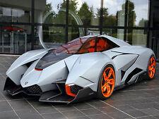 "19"" x 13"" Poster 2013 Lamborghini Egoista Concept Supercar"
