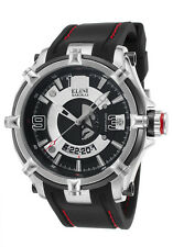 Elini Barokas Fortitudo Silver Duo Mens Watch ELINI-20000-01-BB