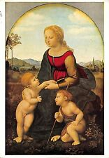 Art Raphael Sanzio La belle Jardiniere, Musee du Louvre