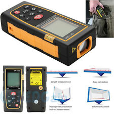 Professional 100M/328ft Digital LCD Laser Distance Meter Range Finder Measure US