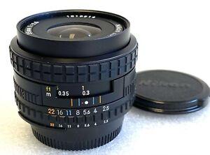 Nikon Series E 35mm f2.5 AIS metal mount lens 90% condition perfect optic
