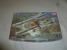 NEW ACADEMY SOPWITH CAMEL F.1 MODEL KIT WII SCALE 1/32ND 2189 SEALED 2000 KOREA
