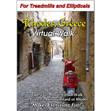 Island Of Rhodes, Greece Virtual Walk Treadmill Scenery Dvd - Video Exercise