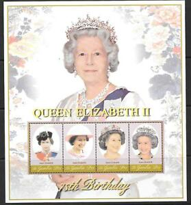 GAMBIA SG4083a 75th BIRTHDAY OF QEII MNH