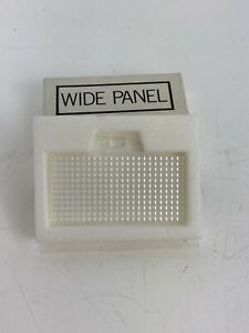 Vintage Minolta Wide Panel Flash Replacement Lens Cover # 8668-500 NOS Japan