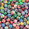 Wholesale! Mixed Polymer Fimo Clay Round Ball Loose Spacer Beads 6,8,10,12mm