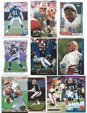 Lot of 50 Different Nicholls State Alumni Football Cards; 1989-1997; NM-Mint