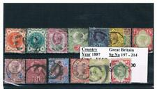 GB Stamps - 1800s - Used