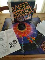 Laser Attack Milton Bradley Board Game WORKS Vintage 1970s